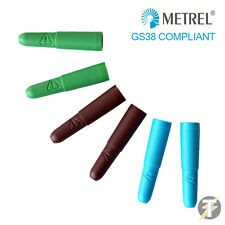 Genuine Metrel Test Probe Shrouds (GS38)  for Test Probes (Green/Brown/Blue)