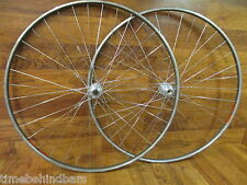 VINTAGE MAVIC GL330 36H EYE 126 CAMPAGNOLO RECORD FREE HUB part TUBULAR WHEELSET