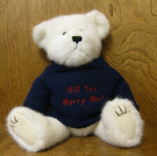 "Boyds Bear ""WILL YOU MARRY ME?"" 18"" JOINTED, NEW FROM RETAIL STORE"