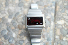 Vintage 1972 OMEGA Constellation Time Computer TC1 LED. White gold filled. NR!!