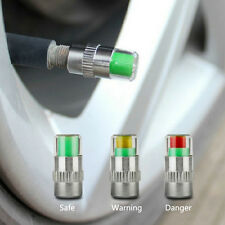 4 Pcs Car Auto Tire Monitor Valve Dust Cap Pressure Indicator Sensor Eye Alert