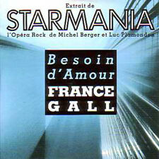CD Single France GALL Claude Dubois / Starmania Besoin