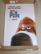"""HUGE 70""""x48"""" The Secret Life of Pets 2015 Vinyl Movie Theater Banner/Poster"""