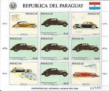 PARAGUAY 1986 MINI SHEET MiNr: 3993 **  OLD TIMER CARS MAYBACH