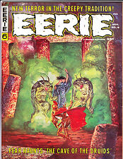 EERIE No 6 1966 Cave Of The Druids Cover !