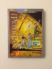 Peter Pan (Blu-ray/DVD, 2013, 2-Disc Set, Diamond Edition) **New w/ SLIPCOVER**