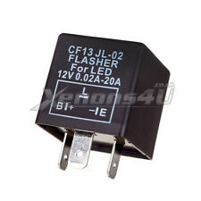 Fix Fast Flashing Turn Signal Indicator Flasher Relay LED 3 PIN CF13