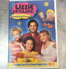Lizzie McGuire Growing Up Lizzie DVD 2003 Disney Channel Hilary Duff