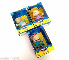3 MATTEL NICKELODEON RUGRAT Collectible Dolls ANGELICA/TOMMY PICKLESS/LILLIAN