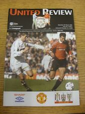 04/03/2000 Manchester United v Liverpool  . Thanks for viewing our item, if this