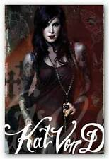 TATTOO POSTER Kat Von D Look To Kill