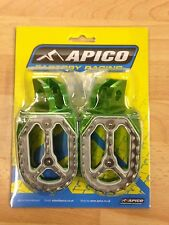 KAWASAKI  KX65 KX 65  2000-2017  APICO PRO BITE WIDE FOOTPEGS FOOT RESTS PEGS