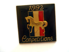 PINS LOGO FORD MUSTANG 1992 COMPETITIONS AUTO VOITURE
