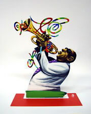 David Gerstein Metal Art - Trumpet Player - Jazz Club - Metal Modern Sculpture