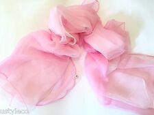 Venta grande vintage de moda Floral/manchas Grande 100% Seda Bufanda Silks