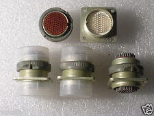 Military 76 pin Hermetic Connectors  SET Male+Female.