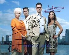 BURN NOTICE CAST X3 DONOVAN ANWAR GLESS SIGNED PP PHOTO