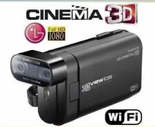LG DXG IC330  10MP / Full HD / 3D/2D Hybrid / Wi-Fi  Camcorder schwarz