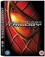 SPIDERMAN TRILOGY 1 - 3 BLU RAY BOX SET TOBY MAGUIRE PART 1 2 3 SPIDER MAN NEW