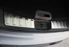 Rear bumper cargo door sill plate Protector For Nissan X trail Rogue 2014 2015