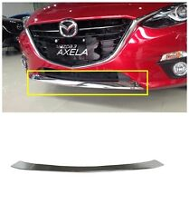 ABS Chrome Front Bumper Grille Cover Trim For 2014 Mazda3 AXELA New