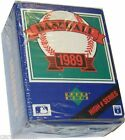 1989 UPPER DECK BASEBALL CARD COMPLETE BOX SET HIGH SERIES  HI #  FACTORY SEALED
