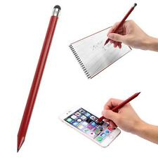 Rot Stylus Eingabestift Touch Screen Stift+Bleistift Für iPhone Samsung Tablet