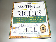 AUDIOLIBRO THE MASTER KEY TO RICHES - NAPOLEON HILL - PENGUIN - 4 CD IN INGLESE