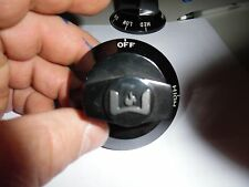Wolf Stove Knobs - Black OFF high