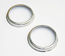 Lucas L594 & L488 Chrome Retaining Rims, Part 572734 or 7H5182, for Mini, MG etc