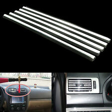 PVC Chromed Car Air Outlet Sequin Decoration Trims Car Accessories 5PCS New