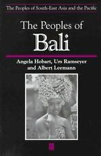 The People of Bali (The Peoples of South-East Asia and the Pacific)-ExLibrary