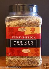 The Keg Famous Steakhouse Seasoning ~ 1.1 Kg / 2.43 Lb ~ Unique Seasoning Blend
