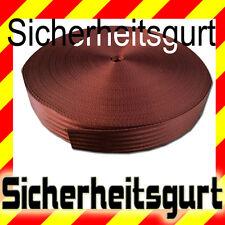 Ceinture de sécurité bordeaux rouge, Compteur MISE AU POINT , Polyester bande
