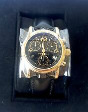 New MONTBLANC MEISTERSTUCK Medium Chrono Quartz Wristwatch Swiss Made