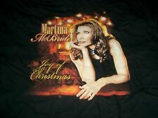MARTINA McBRIDE - JOY OF CHRISTMAS TOUR 2006 CONCERT T-SHIRT XL BLACK NEW
