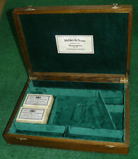 ANTIQUE CASE FOR A WEBLEY MK VI REVOLVER PISTOL GUN.