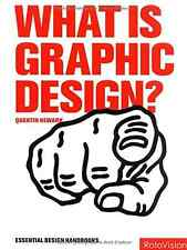 What is Graphic Design? (Graphic Design for the Real World), Good Condition Book