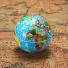Geography Education Toy World Map Foam Earth Globe Stress Relief Ball Atlas 60mm