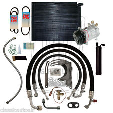 1965 FORD MUSTANG Hi-Po 6-Cylinder 134a A/C Air Conditioning Upgrade Kit AC