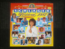Double LP Harry Thomas Schlager Festival 1987 Double Elpee Vinyl Holland Germany