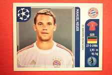 PANINI CHAMPIONS LEAGUE 2011/12 N. 6 NEUER BAYER MUNCHEN WITH BACK BACK MINT!!