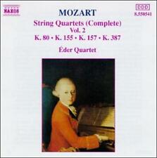 Mozart: String Quartets (Complete), Vol. 2, New Music
