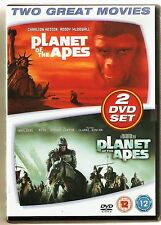 Planet of the Apes 1968 & 2001 - 2 DVD Set