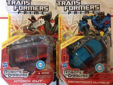 TRANSFORMERS PRIME Rumble And Knock Out Beast Hunters