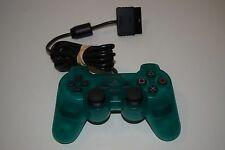 OFFICIAL DUAL SHOCK 2 CONTROLLER Playstation 2 PS2 SCPH-10010 Emerald Green