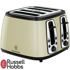 Russell HOBBS 18369 PATRIMONIO Gamma Tostapane 4 Fette Color Crema BRAND NEW TRENDY 037739