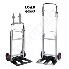 New Aluminium Folding Multipurpose Barrow Heavy Duty Sack Truck Cart Trolley