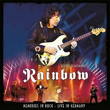 RITCHIE BLACKMORE'S RAINBOW MEMORIES IN ROCK 2CD (RELEASED November 18th 2016)