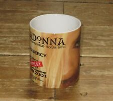 Madonna 2001 World Tour Advertising MUG
